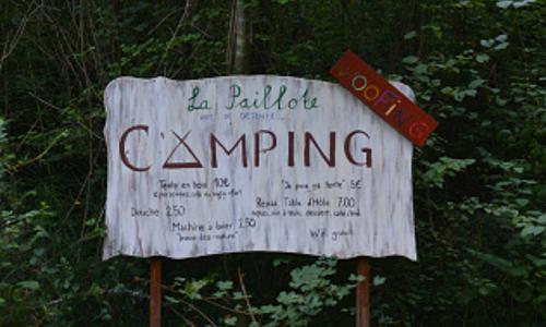 La Paillotte de Laujol - Camping